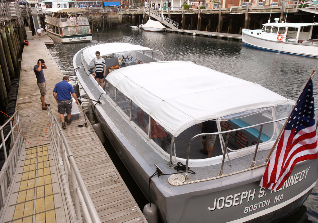 New Boat In Portland Harbor Is Meant To Make Waves