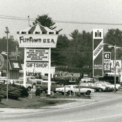 Flashback on Portland Rd. in Saco looking towards Funtown Splashtown USA