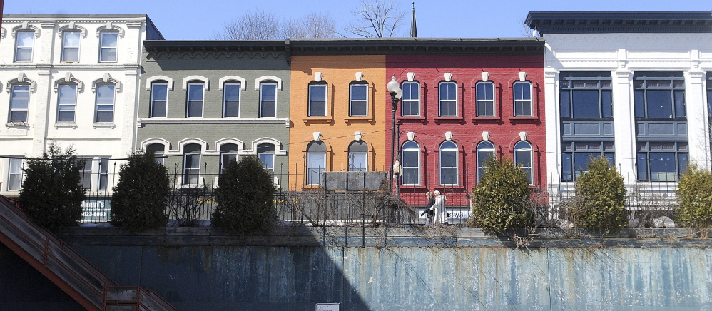 A portion of Water Street in Augusta would be part of a new historic district if the City Council approves a proposal now under consideration.
