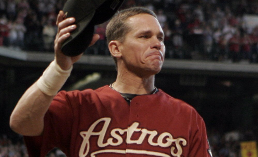 Craig Biggio was an All-Star as a catcher for the Houston Astros before moving to second base in 1992 to lengthen his career.
