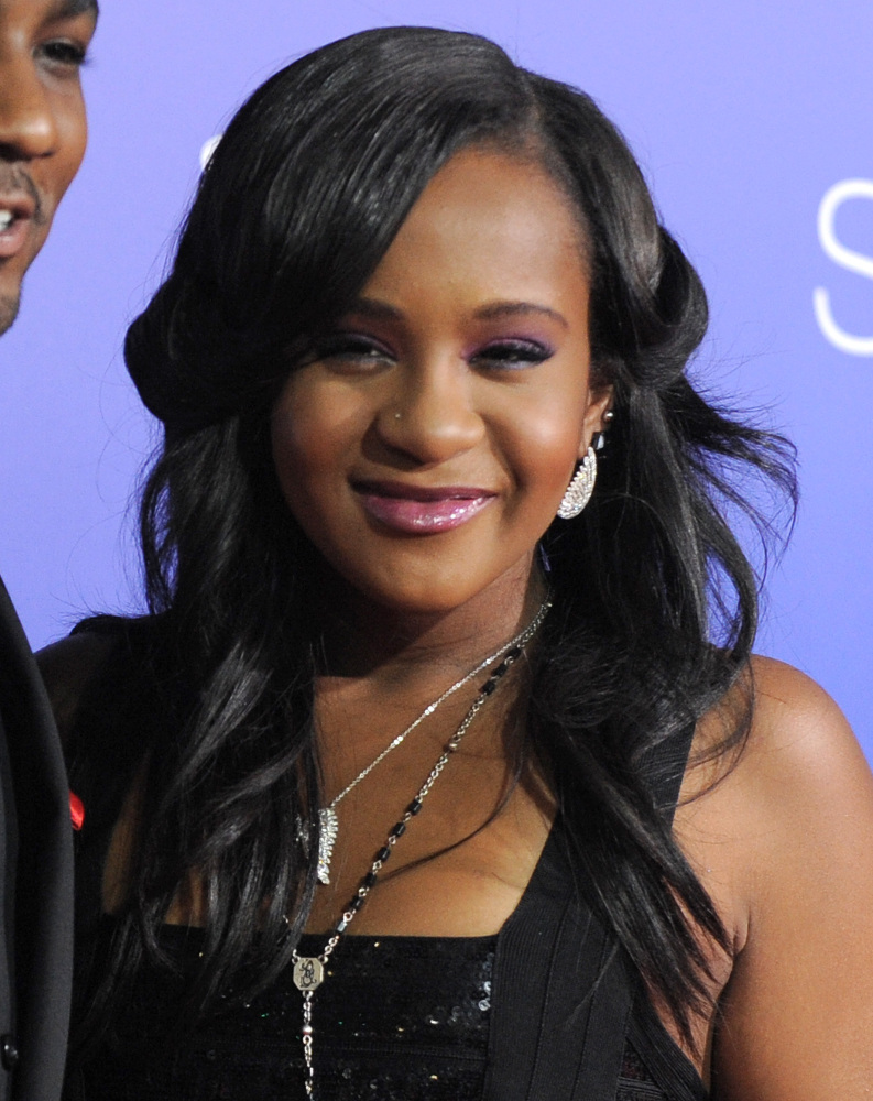 Bobbi Kristina Brown, daughter Whitney Houston and Bobby Brown, died Sunday.