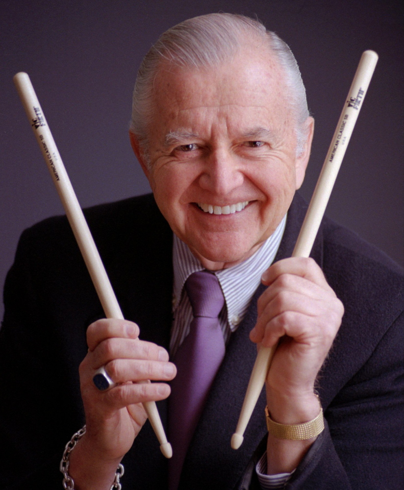 Vic Firth's drumsticks are widely used throughout the music world, including by Rolling Stones drummer Charlie Watts and by Elton John's drummer.
