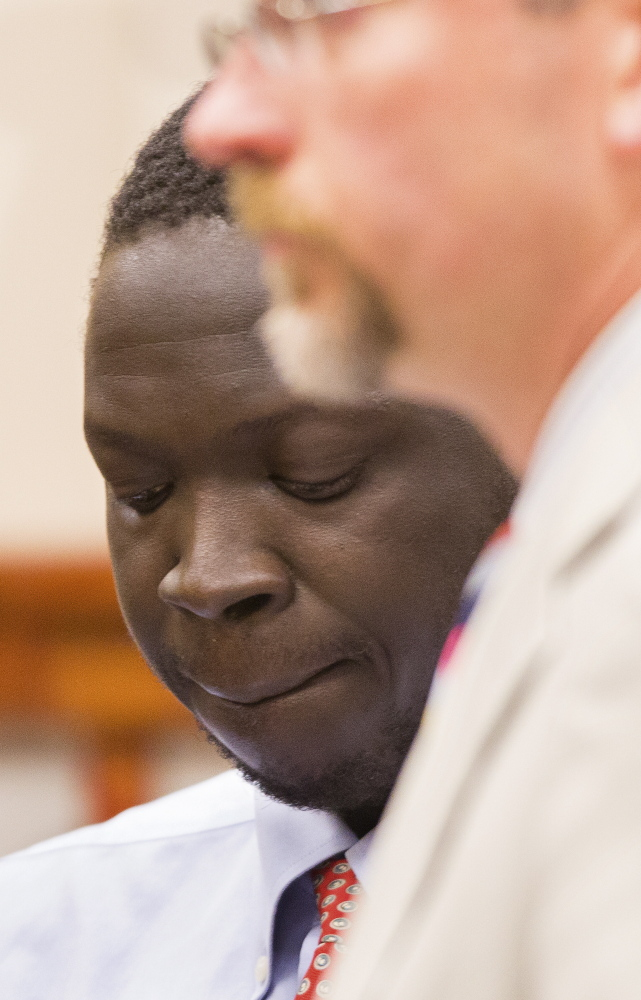 In court Wednesday, Gang Deng Majok waived his right to a speedy hearing on whether he can continue being held jailed without bail.