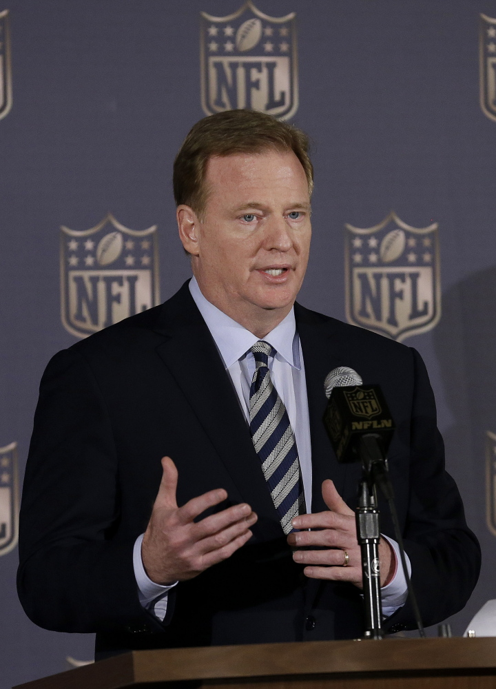 NFL Commissioner Roger Goodell and his wife own a $6.5 million property on Prout's Neck in Scarborough.