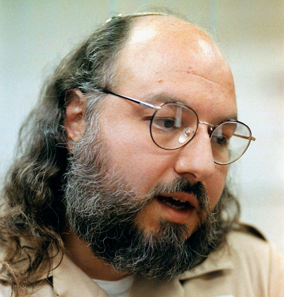 Jonathan Pollard in 1998. Pollard becomes eligible for parole in November 2015, on the 30th anniversary of his arrest on charges of selling classified information to Israel. U.S. officials say they're unlikely to oppose his parole. The Associated Press
