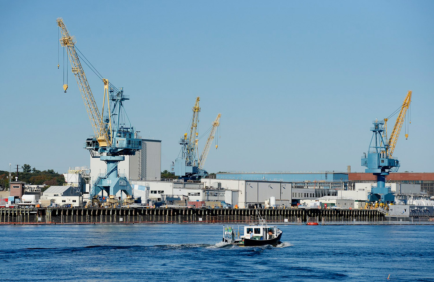 Portsmouth Naval Shipyard expects to hire 900 employees during the current fiscal year. 2013 Press Herald File Photo/Shawn Patrick Ouellette