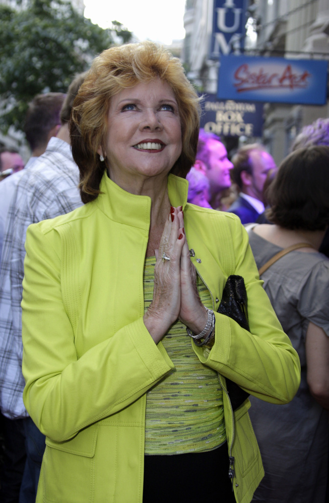 Cilla Black died Saturday in her home in southern Spain. She was 72.