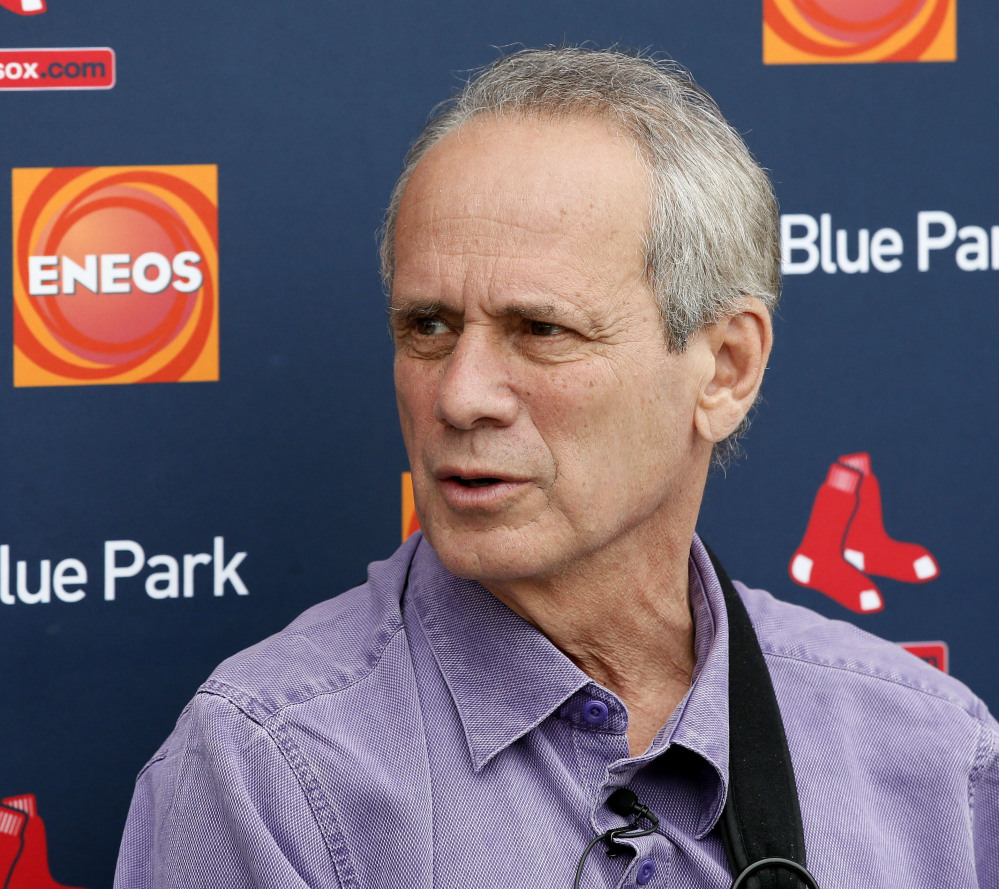 Larry Lucchino is stepping down as the Red Sox President and CEO after this season.