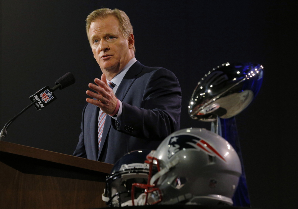 The NFL Players Association believes NFL Commissioner Roger Goodell has too much power in resolving cases involving the integrity of the sport.