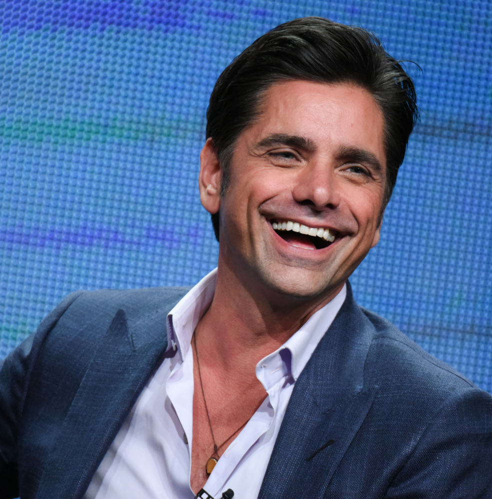 "John Stamos will star next year in ""Fuller House"" on Netflix and next month in ""Grandfathered"" on Fox."
