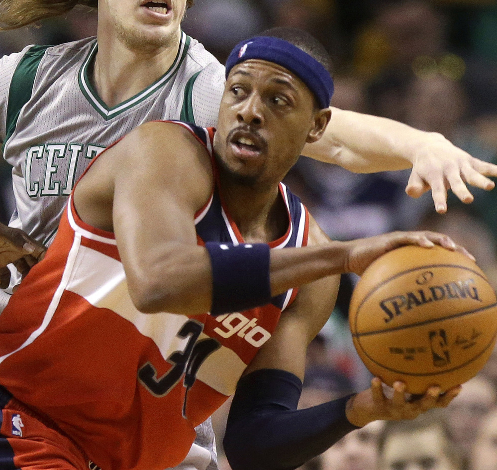 Paul Pierce is always a Celtic, but is now a hired gun who is reuniting with his old Boston coach for one more run at a title.
