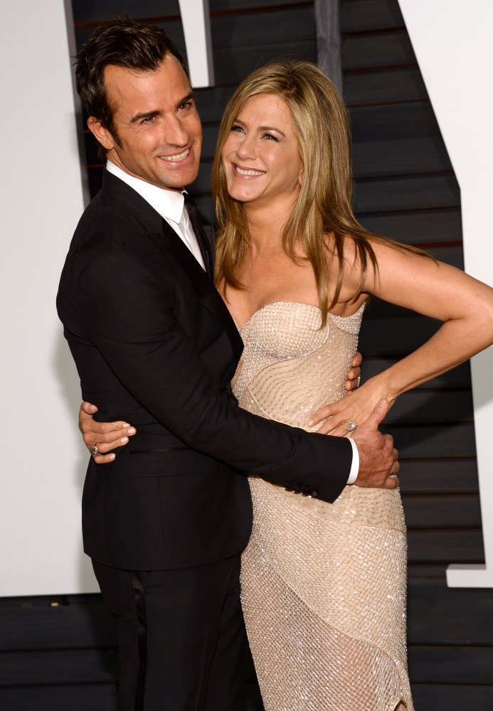 Justin Theroux and Jennifer Aniston got married last Wednesday, Howard Stern reported on Monday.