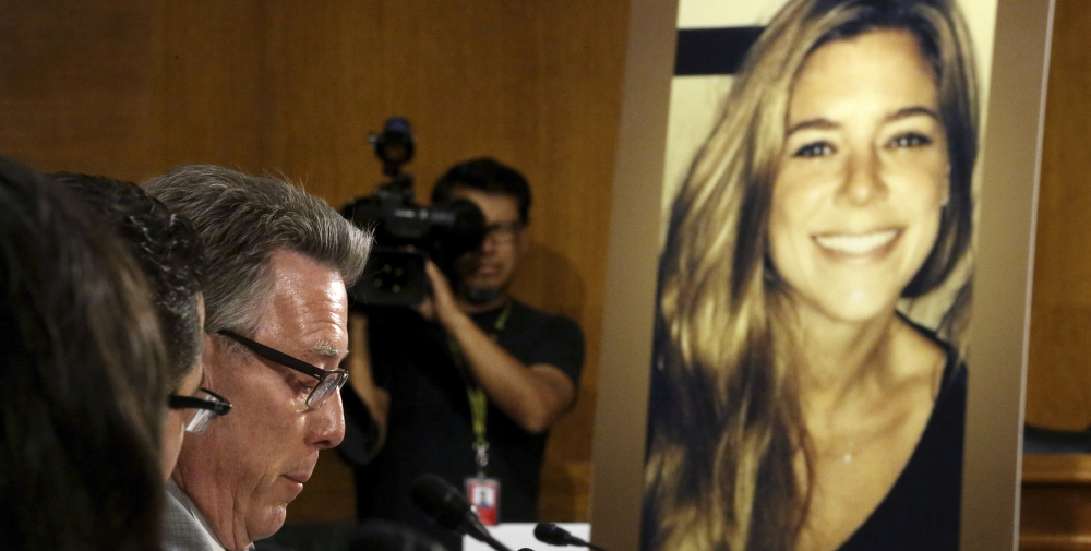 Last month's killing of Kathryn Steinle, in photo, should prompt federal penalties for cities that refuse to cooperate with U.S. immigration officials.