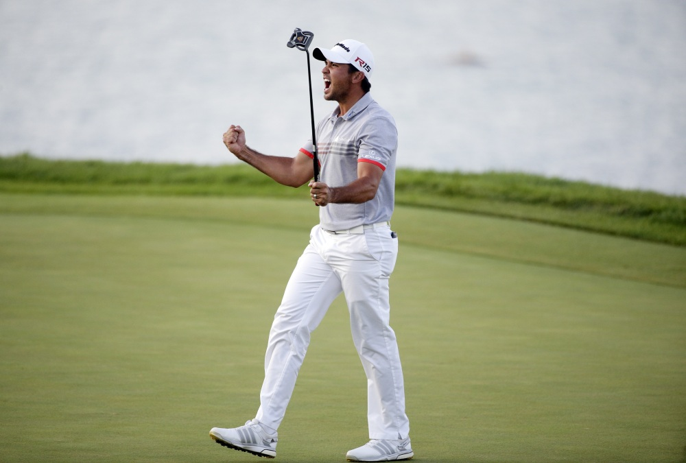 Jason Day shot 6-under 66 to take a two-shot lead over Jordan Spieth in the third round of the PGA Championship on Saturday.