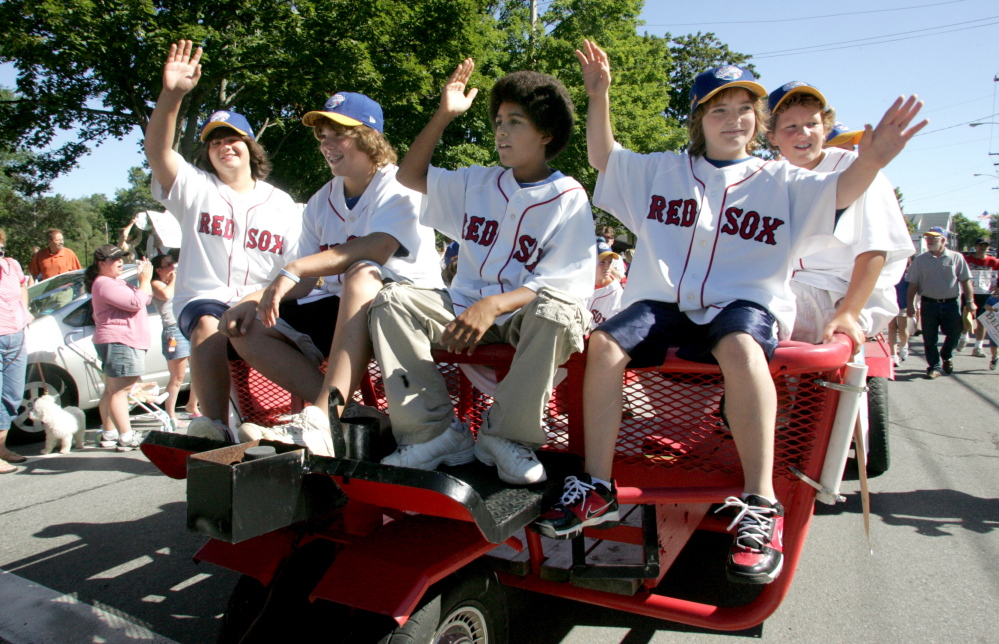 The team that caught the attention of its hometown and home state by rallying to win the New England Regional received a heroes' welcome with a parade in Westbrook, appearances across the state and a trip to Fenway Park.