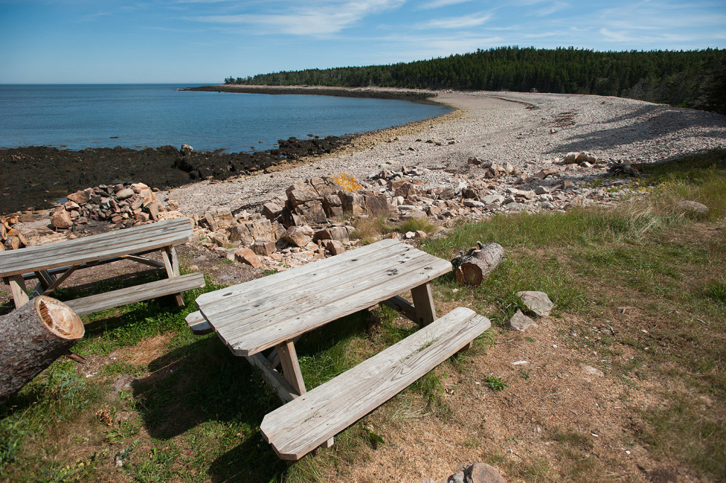 Eastern Beach on the  Maine Coast Heritage Trust's Frenchboro Preserve is the plannned location of a rural camp site. The trust wants to install two camp sites, offering visitors the opportunity to spend the night in a unique setting.