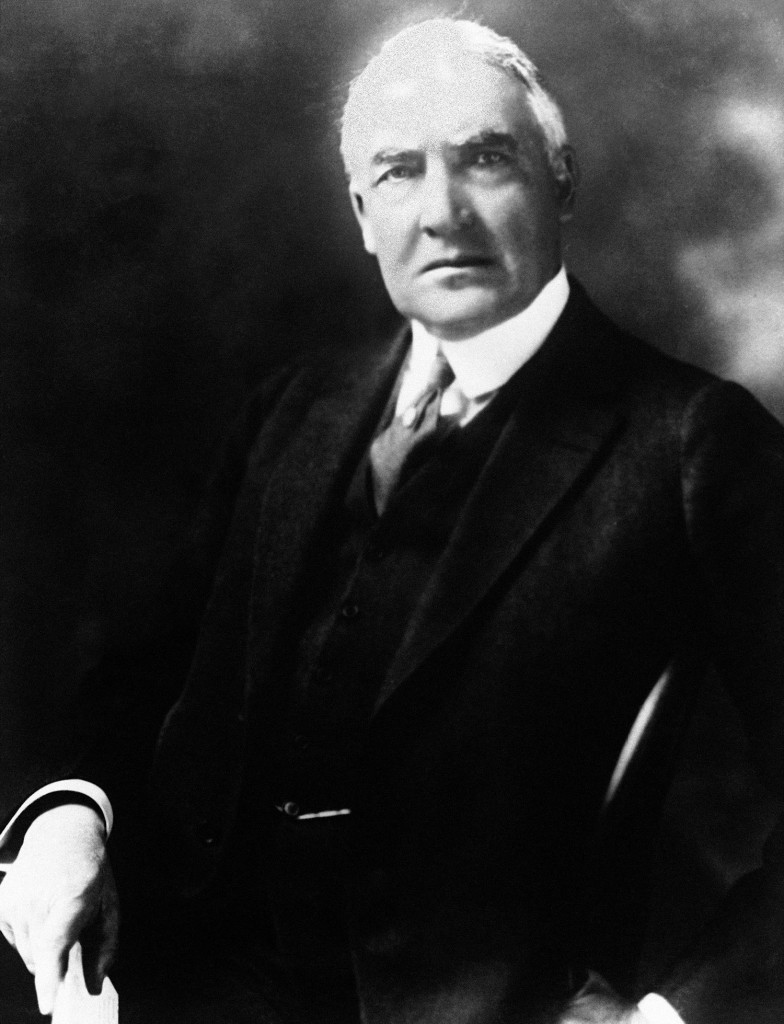 President Warren G. Harding's family long denied the story of his rumored mistress Nan Britton that she had borne him a daughter.
