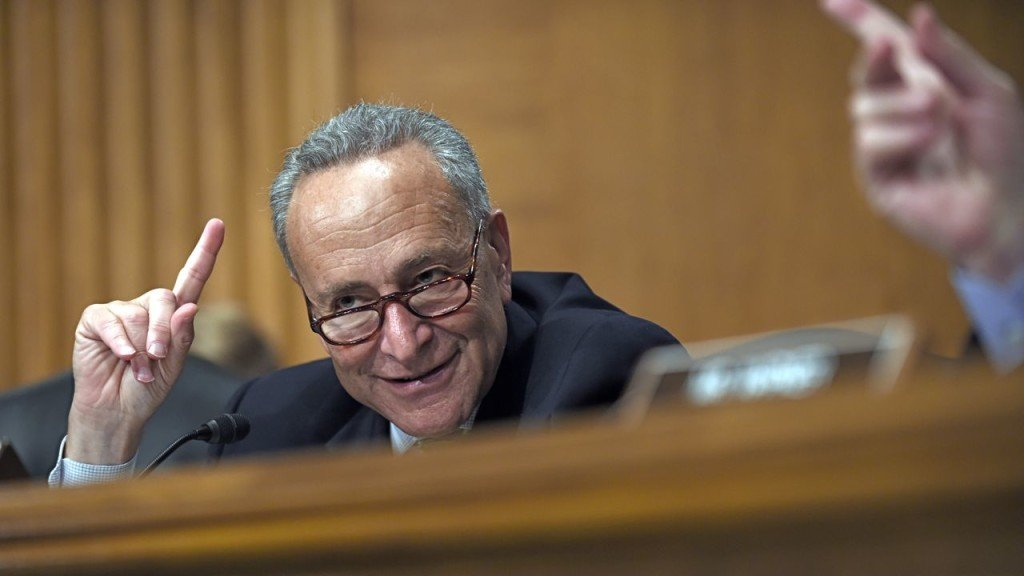 Sen. Charles Schumer, D-N.Y., speaks during a hearing on Capitol Hill on July 16, 2015. Many Senate members see him, likely the next Senate Democratic leader, as the most influential member of his party on the Iran nuclear issue. The Associated Press