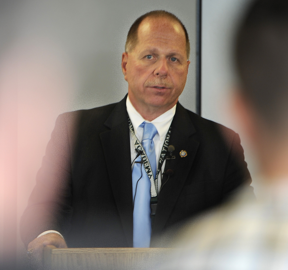 """Cumberland County Sheriff Kevin Joyce told lawmakers Thursday that his jail staff provides detoxification or drug withdrawal services to about 30 inmates every week, but """"the reality is, I'm not fixing them."""