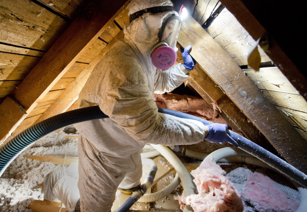 Insulation installed this year will keep people warmer for many years to come. With oil prices this winter at a 10-year low, it is a good time to step up the state's weatherization progam.
