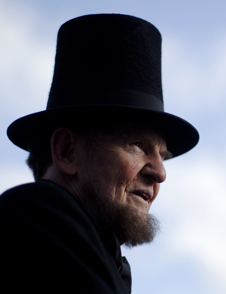James Getty gave rousing recitations of the Gettysburg Address. The Associated Press