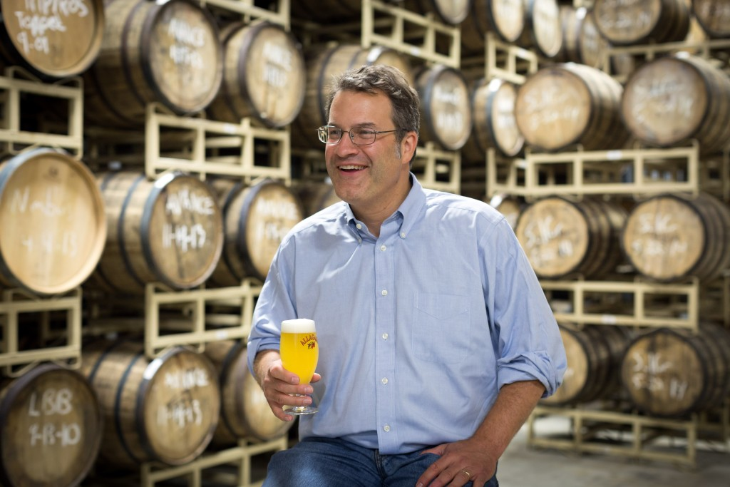 Rob Tod, founder of Allagash Brewing.