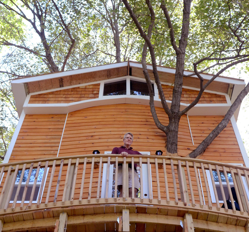 Massachusetts Contractor Takes Treehouse To Next Level