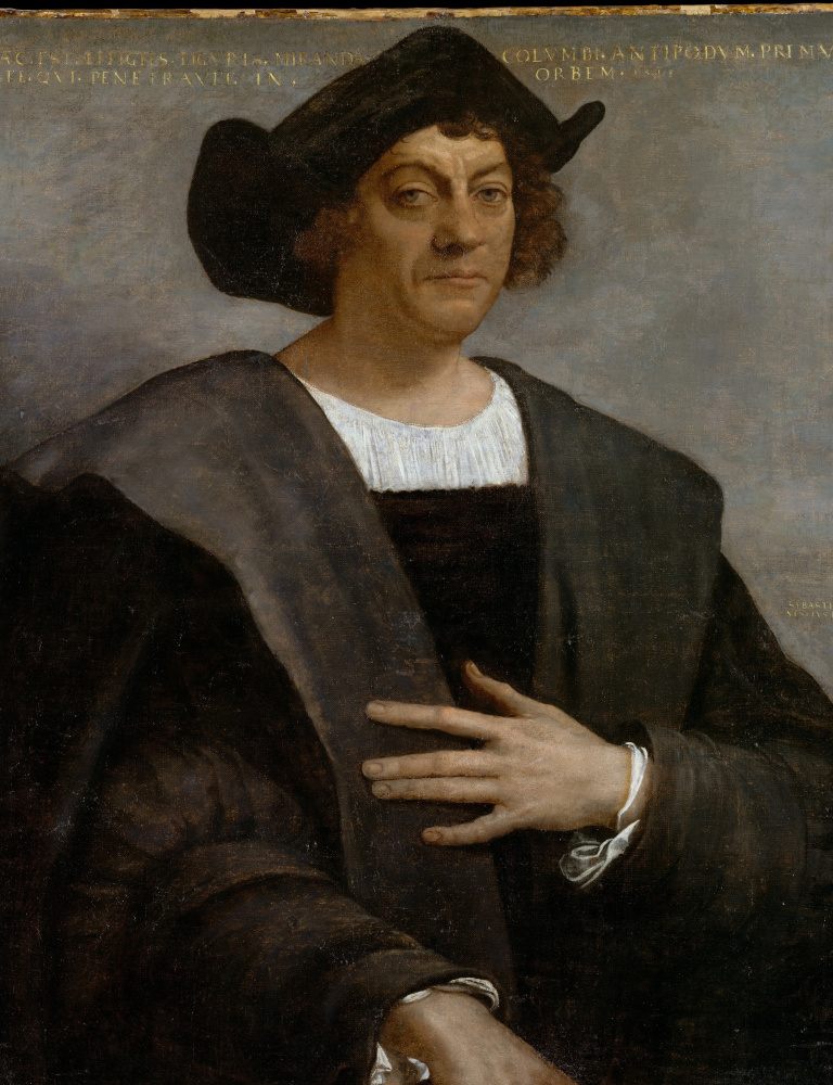 While one resident at Monday's meeting called Christopher Columbus
