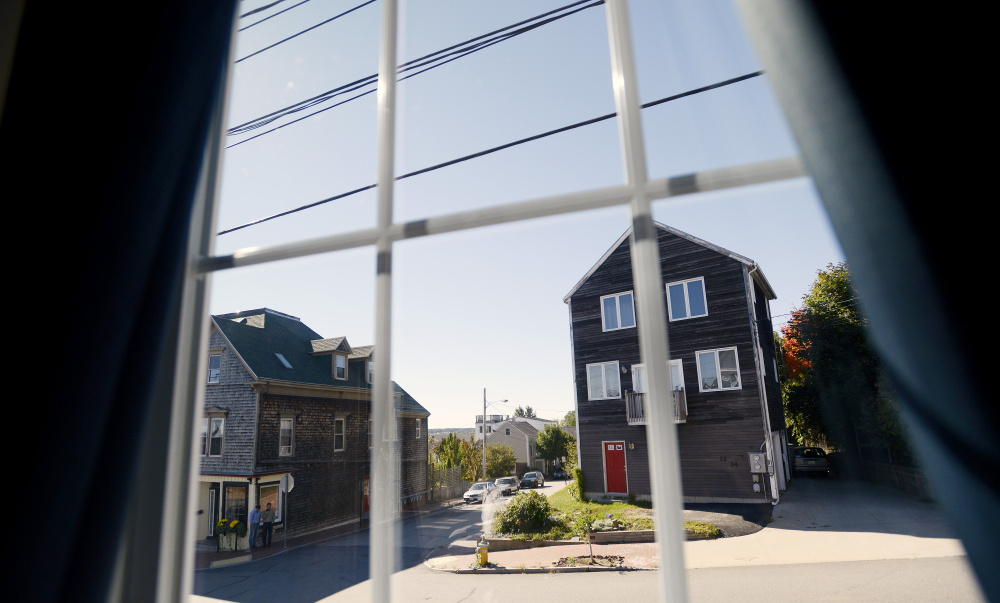 Gary Wagner's Airbnb guests don't get a water view, just a view of his West End neighborhood, above. Nevertheless, they paid $199 a night this summer to stay there. (Photo by Shawn Patrick Ouellette/Staff Photographer)