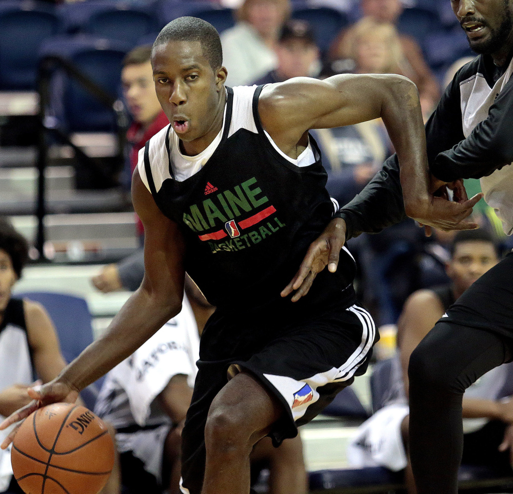 Ella Ellis, a graduate of West Point, last played in a collegiate game two years ago. Yet he was a second-round pick in the D-League draft by the Maine Red Claws last month.