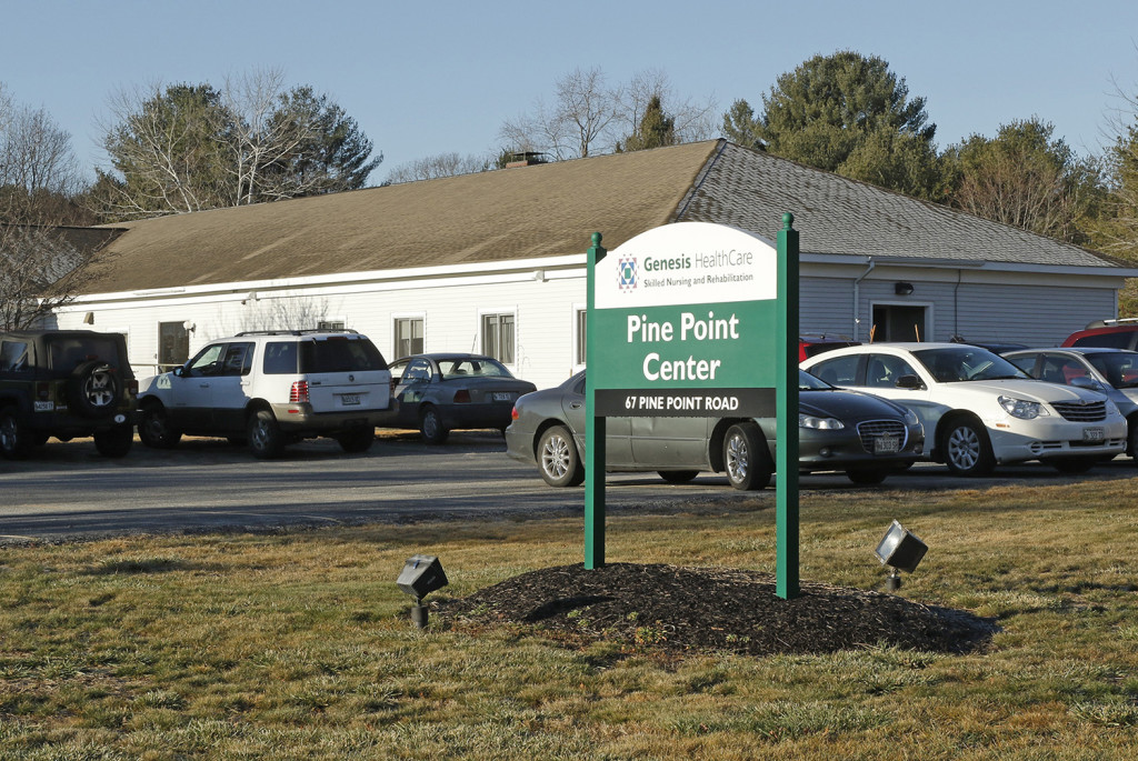 Pine Point Center, a nursing home in Scarborough owned by national health care company Genesis, lost a whistleblower case brought by a former employee. Gregory Rec/Staff Photographer