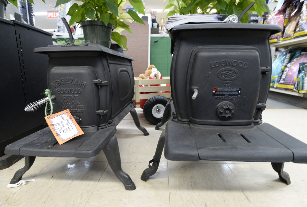 "1, stoves like these ""EPA-exempt"" models from - Exempt Wood Stoves, Popular With Mainers, Fade From Stores As New"