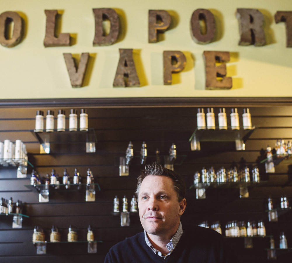 "Old Port Vape co-owner John Kreis says, ""I couldn't count how many people have come into my shop in Portland who said they haven't gone a day without a cigarette in 20 years and then they come in two weeks later and said, 'I haven't had a cigarette since.' """