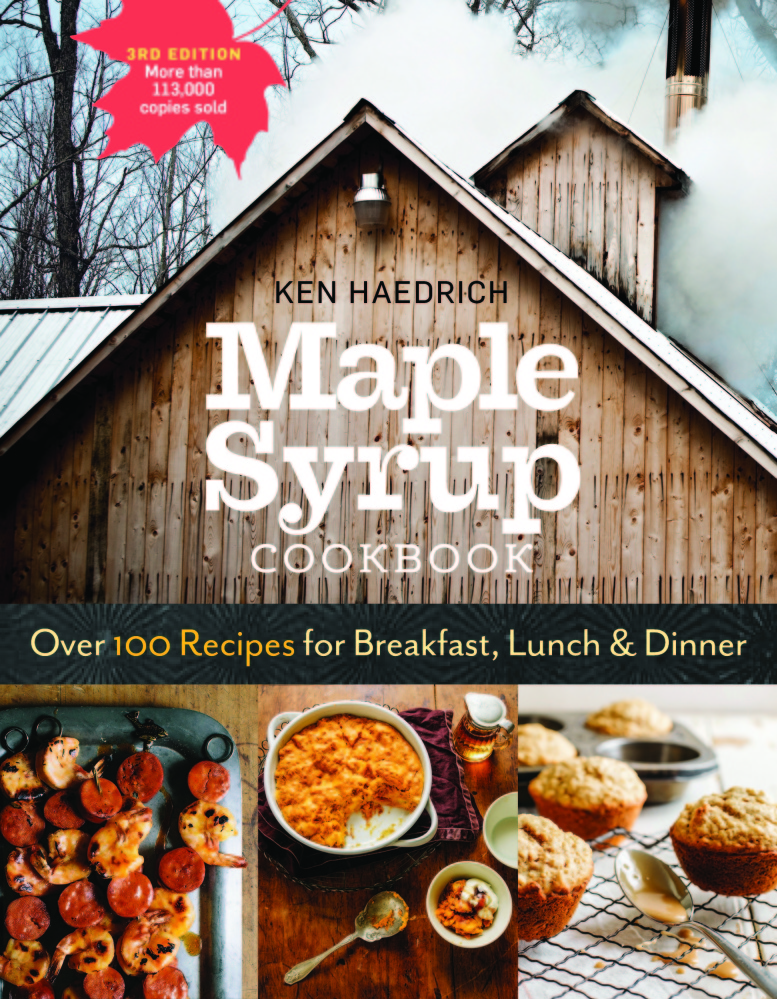 Historical tidbits, maple syrup lore and lingo, tales of sugarmakers and a brief treatise on how maple syrup has been made through time await readers of the Maple Syrup Cookbook.