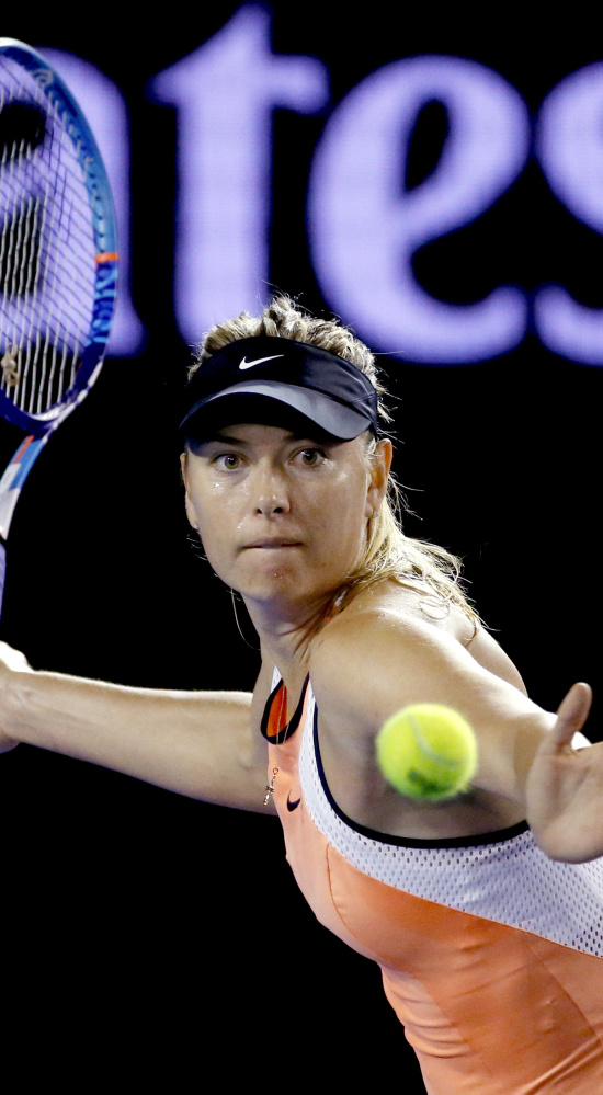Maria Sharapova needed just 71 minutes to win her second-round match against Aliaksandra Sasnovich on Wednesday in Australia.