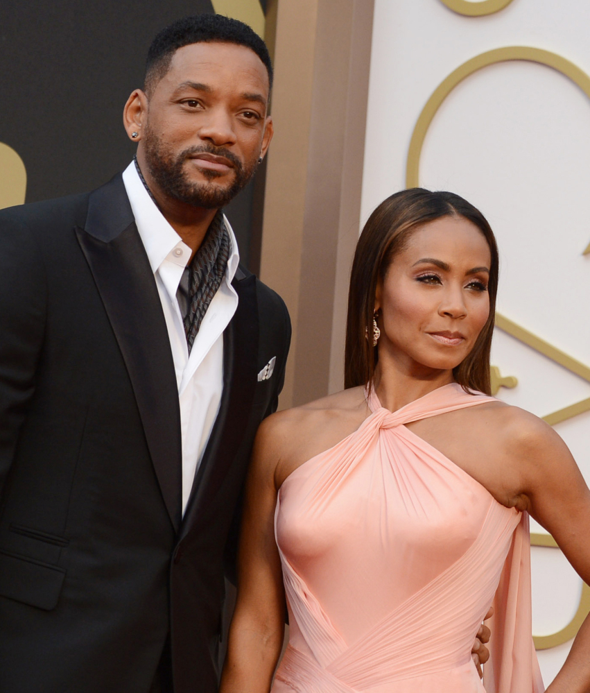 Will Smith and Jada Pinkett Smith say they won't attend the Academy Awards.