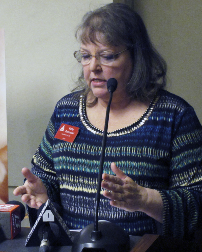 Kathy Ostrowski, lobbyist and legislative director for Kansans for Life, criticizes a Kansas Court of Appeals ruling on abortion.