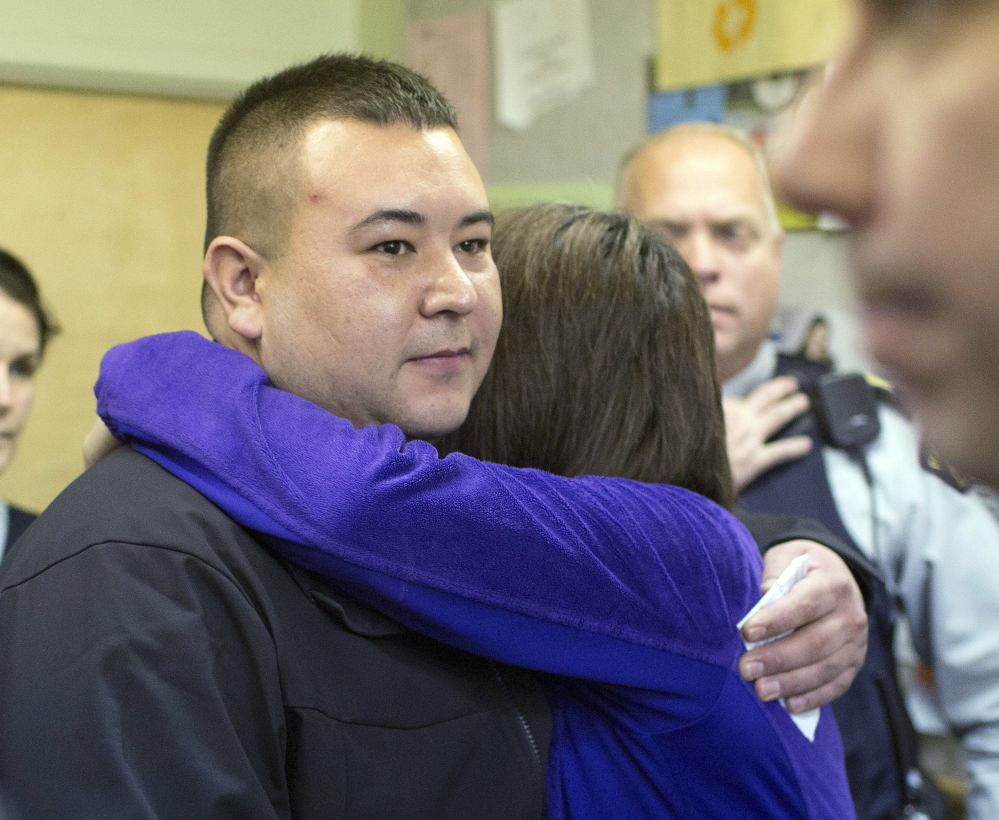 Kevin Janvier, acting mayor of La Loche, Saskatchewan, lost his only child, a teacher's aide, in Friday's shootings at La Loche Community School.