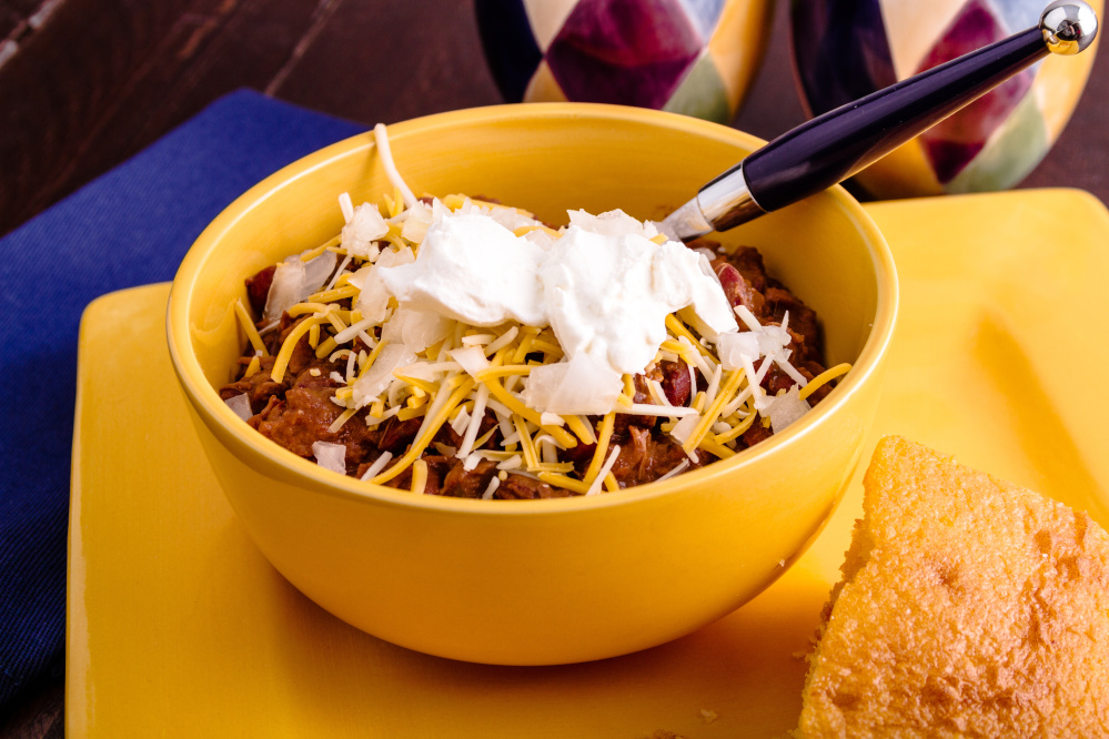 You'll never guess the secret ingredient to this jalapeno chili.