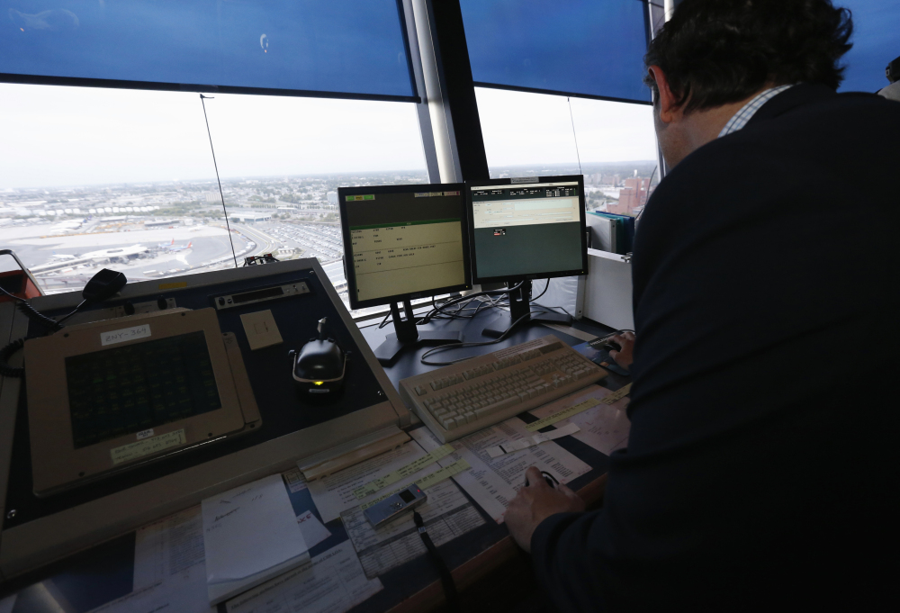 A report on the staffing of air traffic controllers comes as Congress is also facing a battle over a proposal to turn all traffic controlling duties over to a nonprofit corporation.