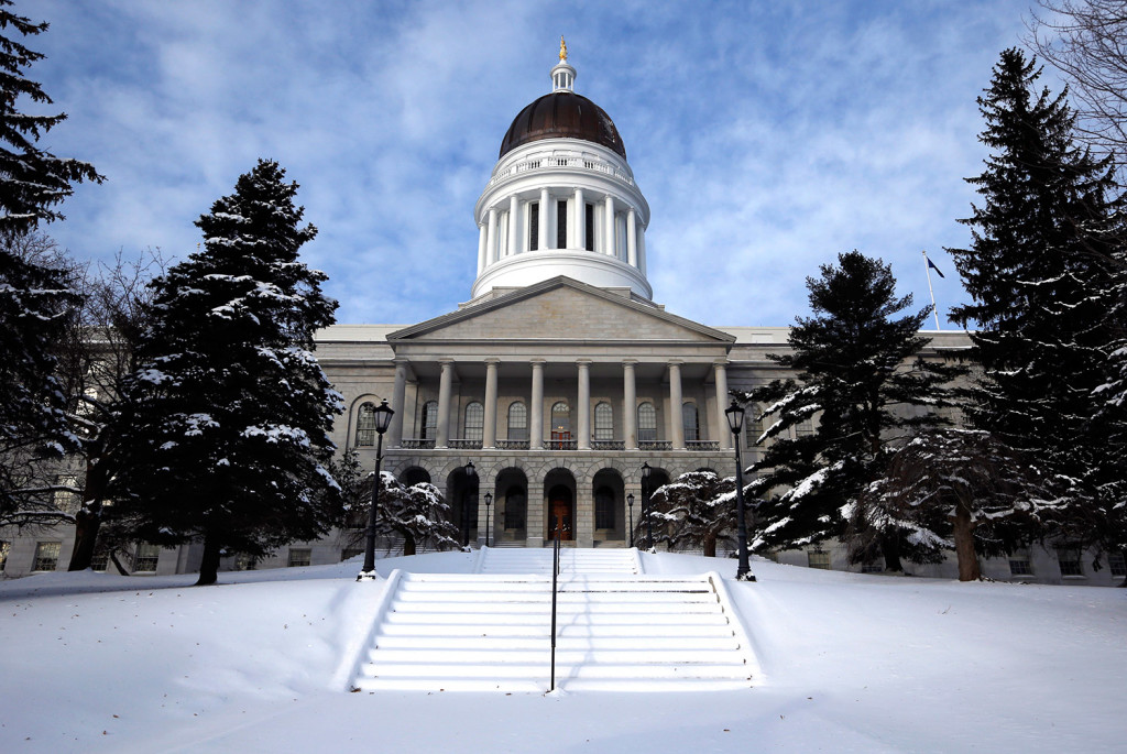 The Maine House Snow voted to chastise the governor, but failed to call for impeachment proceedings, on Thursday at the State House in Augusta.