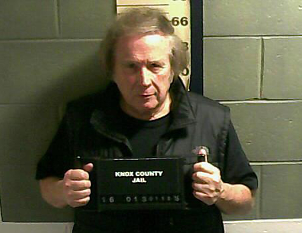 Singer-songwriter Don McLean was arrested early Monday on a charge of domestic violence assault. Photo courtesy Camden Police Department