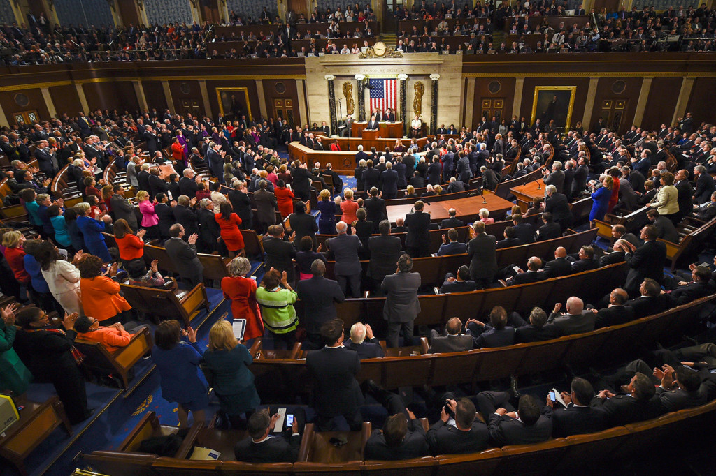 President Obama gives his final State of the Union address before Congress in January.