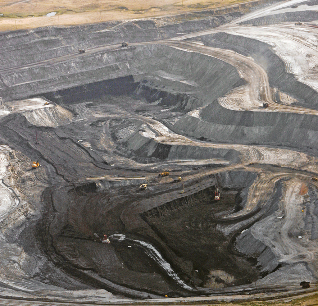 A 2006 photo of a coal mine in northeast Wyoming near Gillette, Wyo. The Associated Press