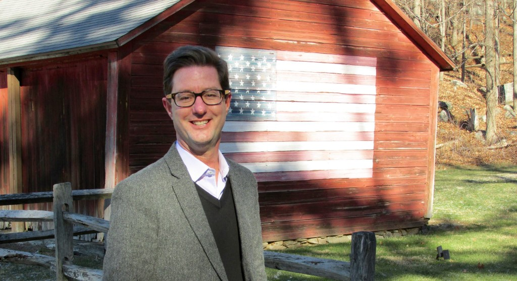 Clay Cope, 53 year-old former marketer for a fashion brand on the QVC home-shopping network, is running for U.S. Congress in Connecticut as an old-fashioned fiscal conservative. Courtesy photo.