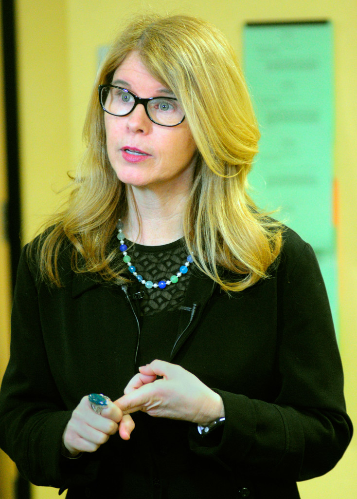 Health and Human Services Commissioner Mary Mayhew said during a news conference Tuesday that the administration estimates Medicaid expansion would cost the state $315 million over the next five years. Joe Phelan/Kennebec Journal