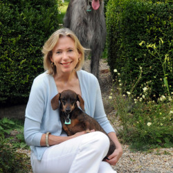 "Page Dickey, editor of ""Outstanding American Gardens"" and co-founder of the Garden Conservancy's Open Days program.  Courtesy photo"
