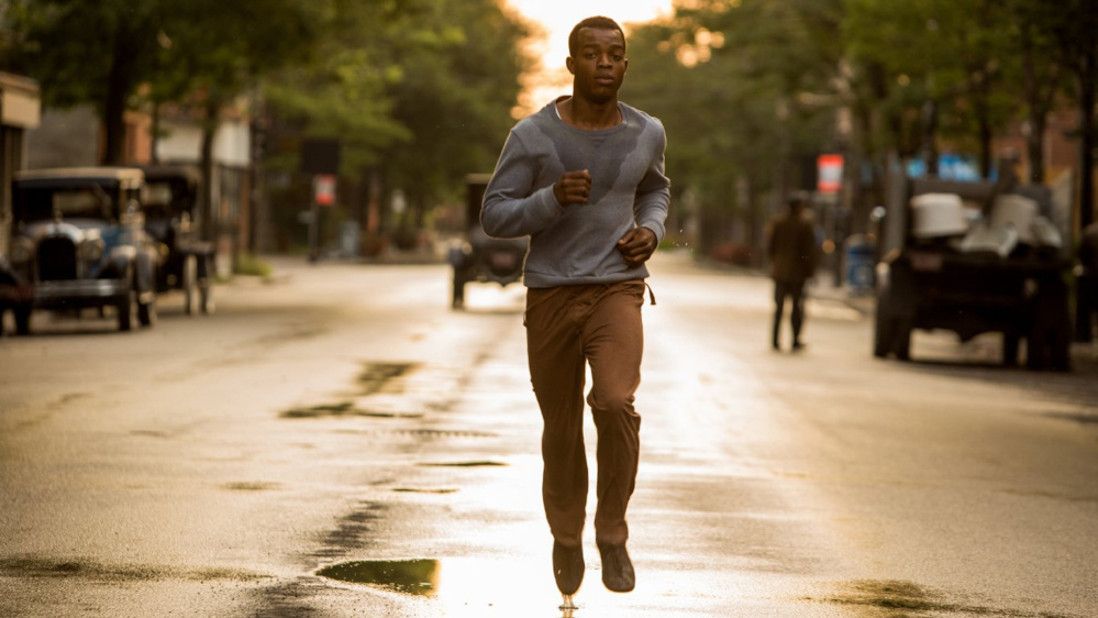 "Stephan James as Jesse Owens in ""Race."""