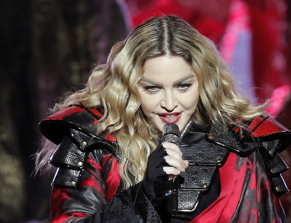 Officials said they were told Madonna's dancers were going to visit the shelter, but did not find out she was coming until an hour before her arrival.