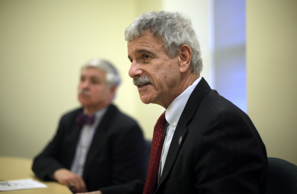 Sen. Roger Katz, R-Augusta, a co-chairman of the Government Oversight Committee, said,